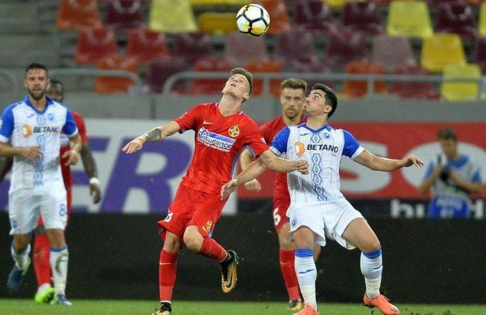 CSU Craiova - FCSB, Liga 1 la fotbal, play-off   Libertatea  Craiova Fcsb