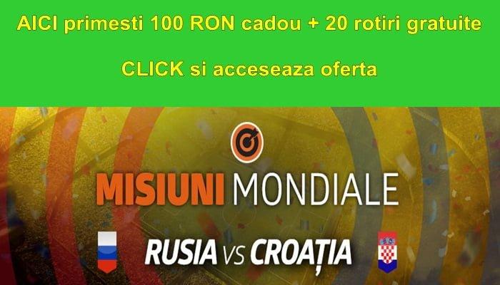 Rusia Croatia la Betano ai cadou 100 RON Full Bet 20 rotiri gratuite la cazinou