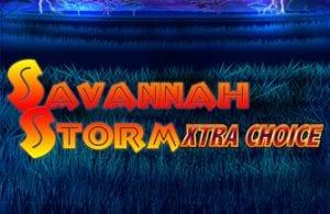 Savannah Storm Xtra Choice video slot
