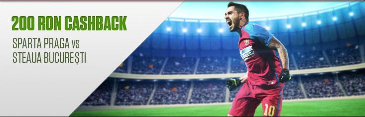 Sparta - Steaua cashback netbet