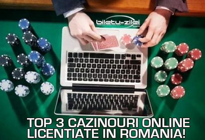 Top 3 cazinouri online licentiate in Romania Casino online