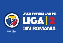 Unde pariem live pe Liga 2 din România