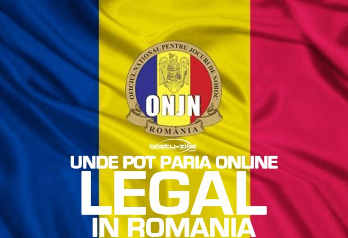 Unde pot paria online legal in Romania? Case de pariuri online