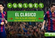 Unibet te trimite pe stadion la El Clasico
