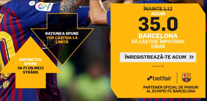 aici primesti cota 35 pentru victorie barcelona