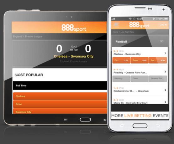 aplicația 888 mobil