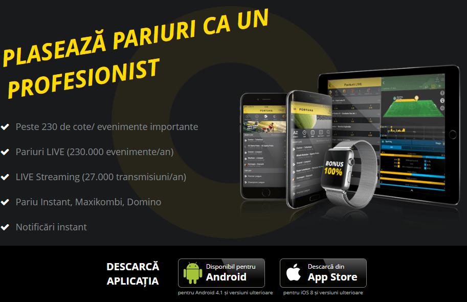 fortuna app