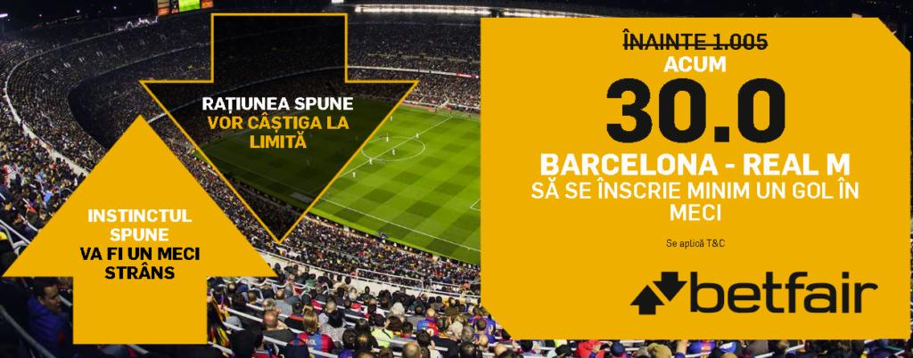 Barcelona vs Real Madrid ponturi pariuri - Cupa Spaniei - 6 februarie 2019 Ponturi pariuri