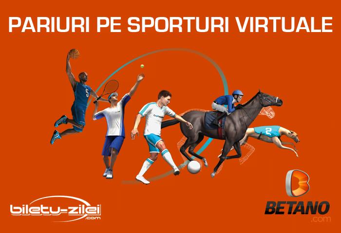 Pariuri pe sporturi virtuale la Betano în 2021