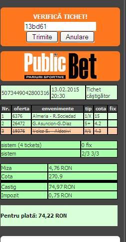 bilet alex 3