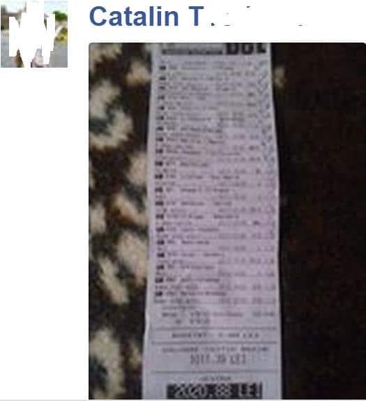 bilet castigat catalin