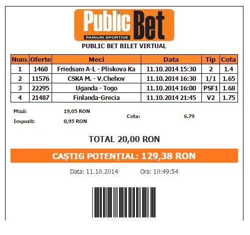 bilet ionut 11.10.2014