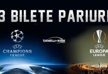 bilete pariuri liga campionilor europa league
