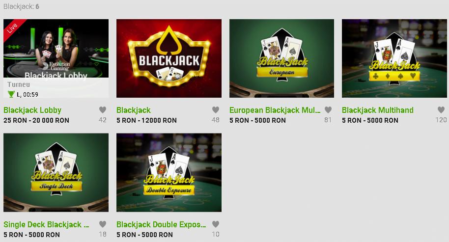 blackjack la unibet casino