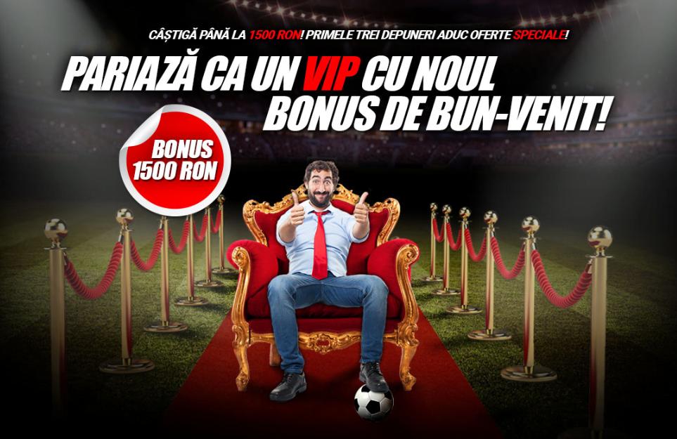 Winmasters - bonusuri de pana la 2.000 RON la primele 3 depuneri Bonusuri pariuri