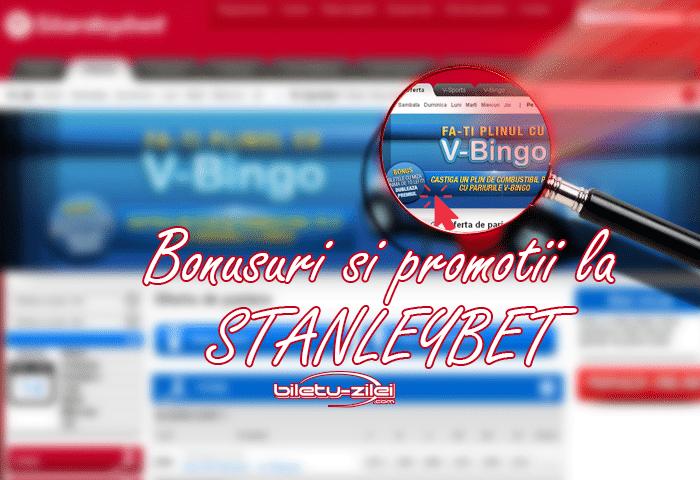 Bonusuri şi promoţii la Stanleybet