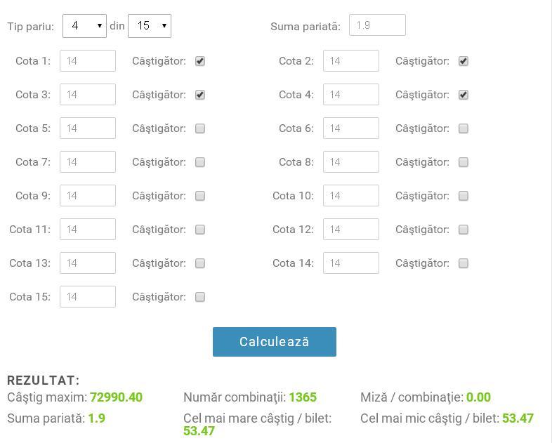 calculator sistem