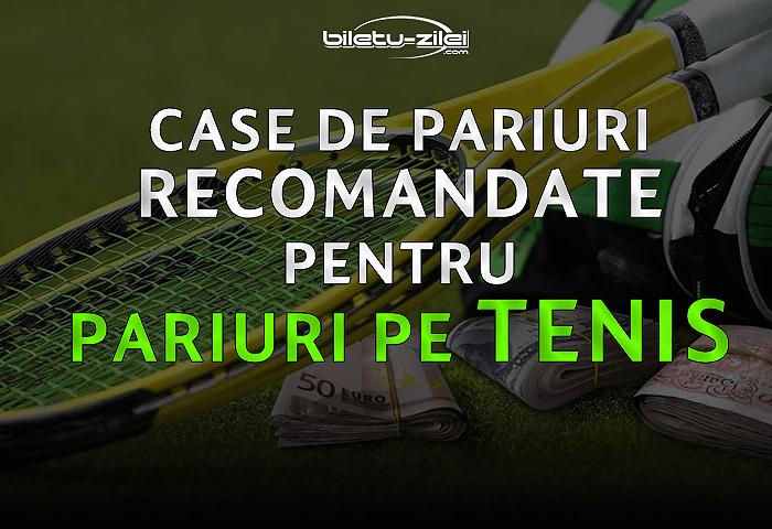 Case de pariuri recomandate pentru pariuri pe tenis (2019) 1