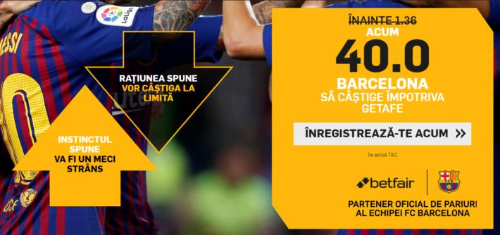 click aici pentru a primi cota 40 la victorie barcelona