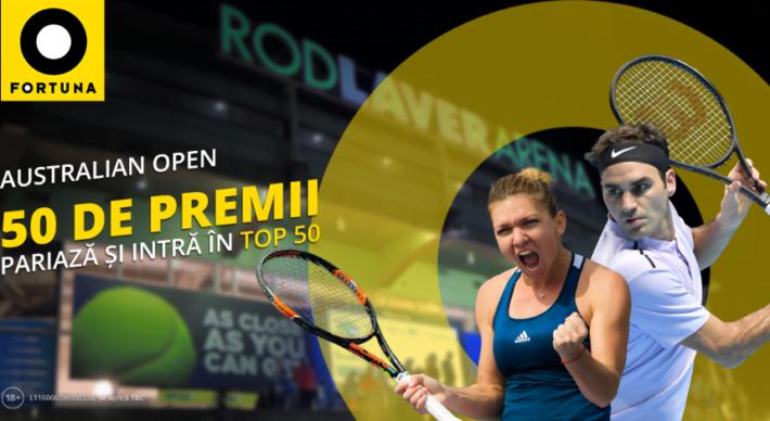 concurs fortuna pentru australian open