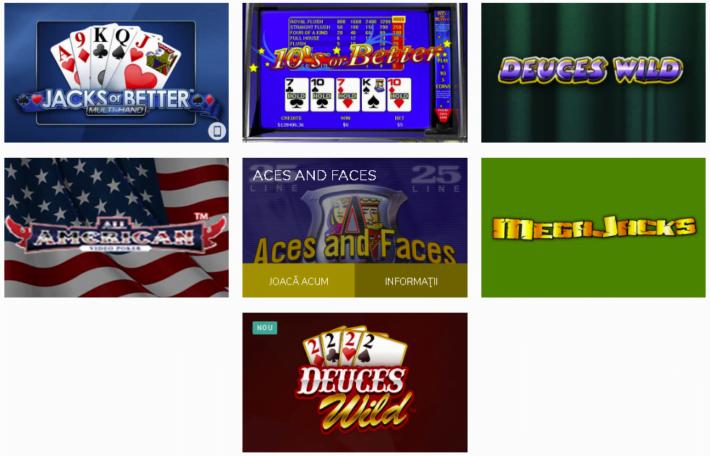 fortuna casino video poker