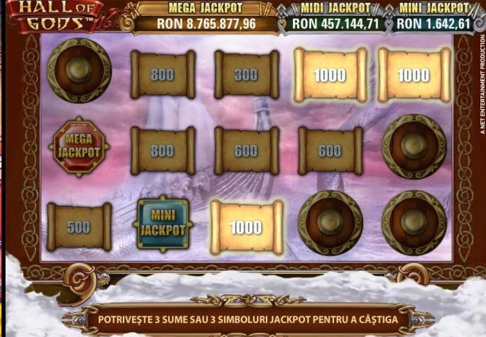 hall of gods mega jackpot