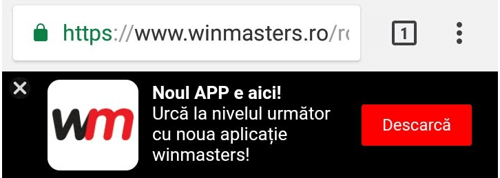 winmasters site mobil