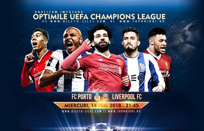 Ponturi - FC Porto - Liverpool - Champions League - 14.02.2018 1