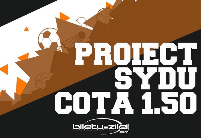 Proiect Sydu COTA 1.50: Pasul 1 - 18.01.2018 1