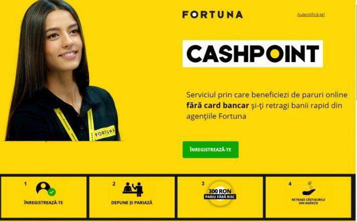 retragere fortuna cash point