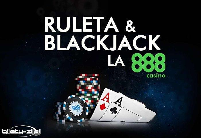 ruleta si blackjack la 888 casino