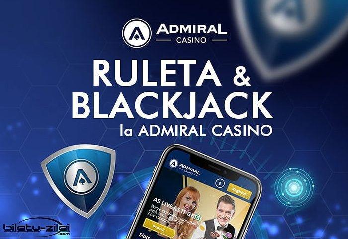ruleta si blackjack la admiral casino