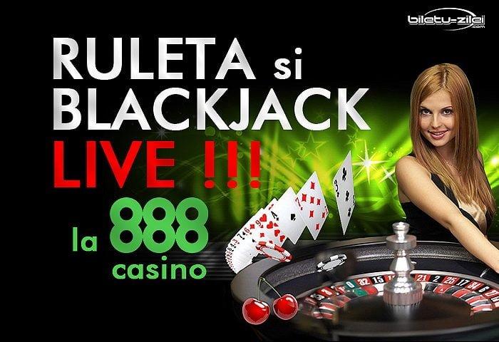 ruleta si blackjack live la 888 casino