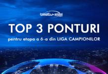 top 3 ponturi pentru etapa 6 din liga campionilor 1
