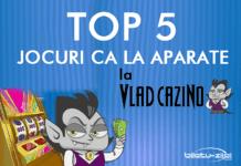 top 5 jocuri ca la aparate la vlad cazino